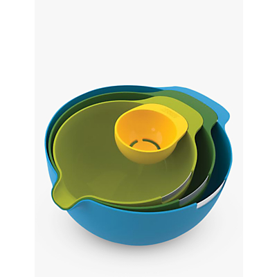 Joseph Joseph Nest Mixing Bowl Set, 4 Piece, Multicolour