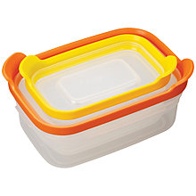 Buy Joseph Joseph Nest Food Storage Containers, Set of 2 Online at johnlewis.com