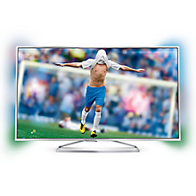 "Buy Philips 40PFS6609 LED HD 1080p 3D Smart TV, 40"" with Freeview HD, Ambilight and 2x 3D Glasses Online at johnlewis.com"