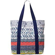 Buy White Stuff Safari Beach Bag, Multi Online at johnlewis.com