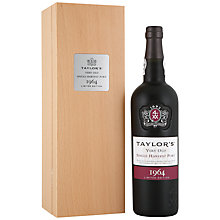 Buy Taylor's Single Harvest 1964 Port, 75cl Online at johnlewis.com