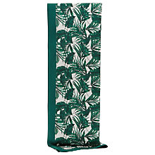 Buy Reiss Miami Palm Print Scarf, Emerald Online at johnlewis.com
