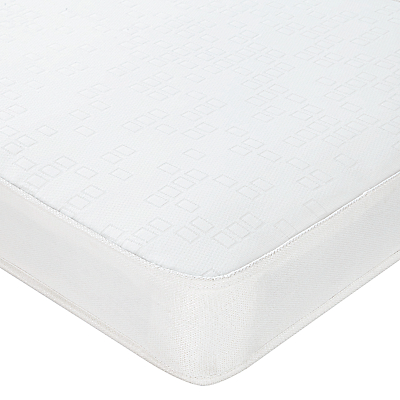 John Lewis The Basics Open Spring No Turn Mattress, Single