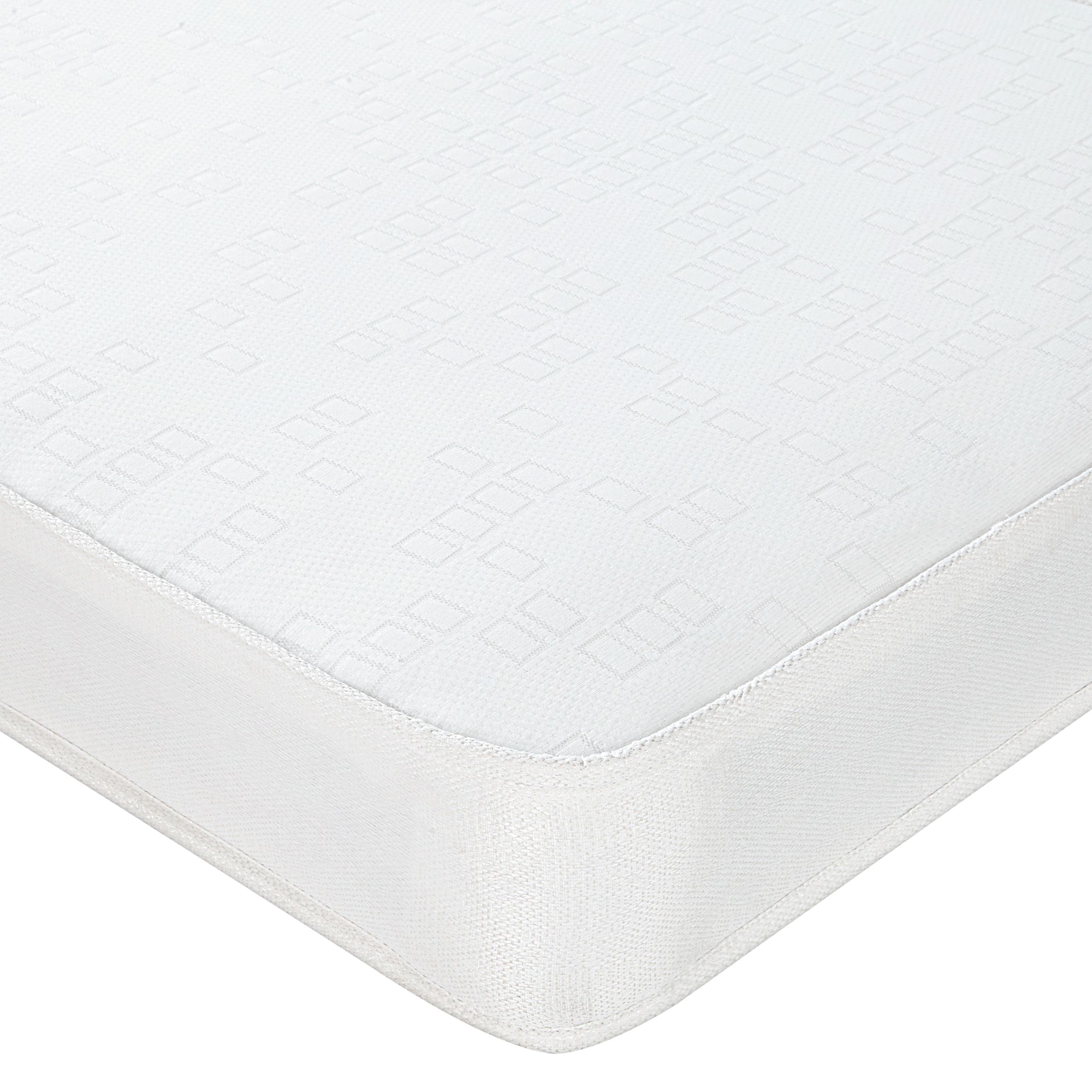 John Lewis The Basics Open Spring No Turn Mattress, Double