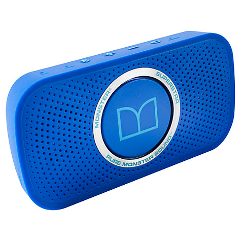 Buy Monster Superstar Portable Bluetooth Speaker Online at johnlewis.com