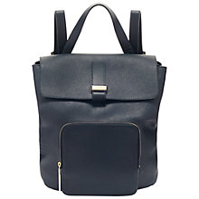 Buy Whistles Portland Backpack, Navy Online at johnlewis.com