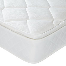 Buy John Lewis Pocket Spring Pillowtop 1000 Mattress, Double Online at johnlewis.com