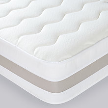 Buy John Lewis Memory 50mm Mattress, Single Online at johnlewis.com