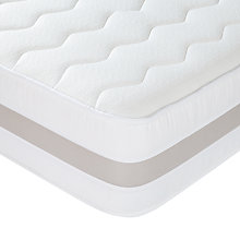 Buy John Lewis Memory 75mm Mattress, Double Online at johnlewis.com