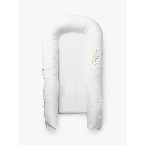 Buy Sleepyhead Grand Baby Pod, Pristine White, 8-36 months Online at johnlewis.com