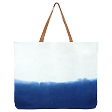 Buy Jigsaw Beach Club Bag, Blue Online at johnlewis.com