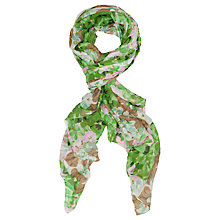 Buy French Connection Isis Scarf, Sweet Apple/Multi Online at johnlewis.com