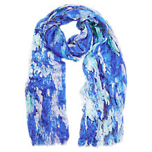 Buy Kaliko Inez Floral Print Scarf, Multi Light Online at johnlewis.com