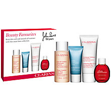 Buy Clarins Beauty Faves Skincare Gift Set Online at johnlewis.com