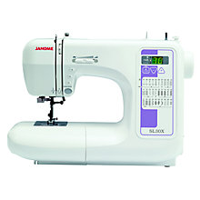 Buy Janome SL30X Sewing Machine Online at johnlewis.com