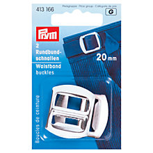 Buy Prym Waistband Buckles, Silver Online at johnlewis.com