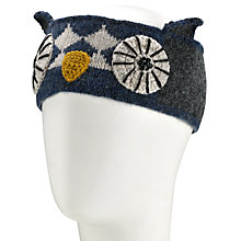 Buy John Lewis Owl Headband, One Size, Blue Online at johnlewis.com