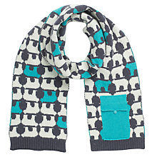 Buy John Lewis Polar Bear Tech Scarf, Grey Online at johnlewis.com