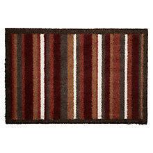 Buy John Lewis Eco Flex Doormat, L40 x W60cm, Red Online at johnlewis.com