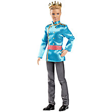 Buy Barbie and the Secret Door Prince Doll Online at johnlewis.com