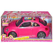 Buy Barbie Volkswagen Beetle & Doll Online at johnlewis.com