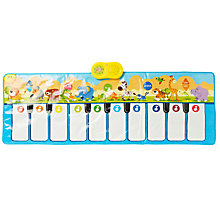 Buy Animal Carnival Musical Keyboard Playmat Online at johnlewis.com