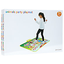 Buy John Lewis Animals Party Playmat Online at johnlewis.com