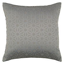 Buy John Lewis Starburst Cushion, Steel Online at johnlewis.com