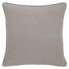 Buy John Lewis Cotton Rib Cushion Online at johnlewis.com