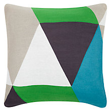Buy John Lewis Knitted Diamonds Cushion Online at johnlewis.com