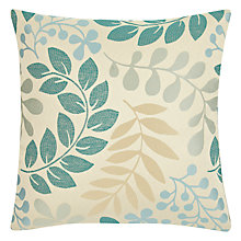 Buy John Lewis Woodland Leaves Cushion Online at johnlewis.com