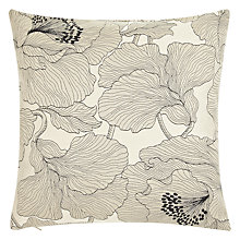 Buy John Lewis Atulya Flower Cushion, Cream Online at johnlewis.com