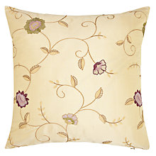 Buy John Lewis Caccini Cushion, Gold Online at johnlewis.com