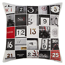 Buy John Lewis Advent Cushion Online at johnlewis.com