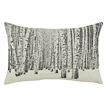 Buy John Lewis Woven Trees Cushion Online at johnlewis.com