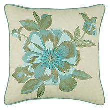 Buy John Lewis Ruka Cushion, Duck Egg Online at johnlewis.com