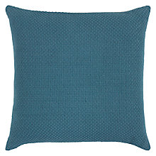 Buy John Lewis Luce Cushion, Lake Blue Online at johnlewis.com