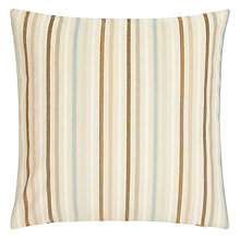 Buy John Lewis Glasgow Cushion, Aqua Online at johnlewis.com