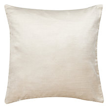 Buy Voyage Como Velvet Cushion, Ivory Online at johnlewis.com