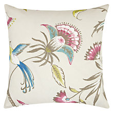 Buy John Lewis Paradaiza Cushion, Pink Online at johnlewis.com