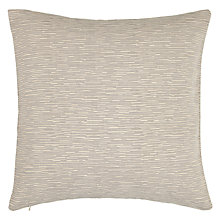Buy John Lewis Denton Cushion, Silver Online at johnlewis.com