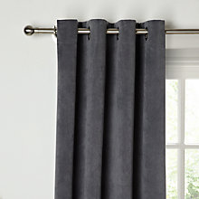 Buy John Lewis Erba Single Panel Lined Eyelet Curtain Online at johnlewis.com