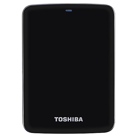 "Buy Toshiba Stor.E Canvio 2.5"" Portable Hard Drive, USB 3.0, 1TB Online at johnlewis.com"