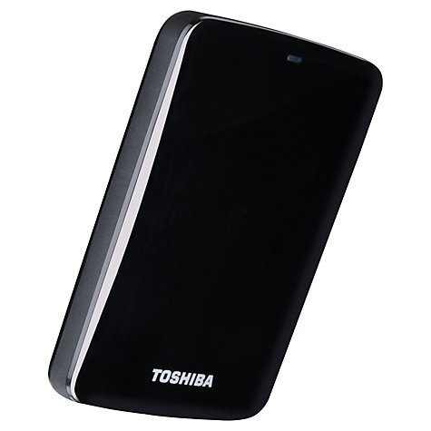 "Buy Toshiba Stor.E Canvio 2.5"" Portable Hard Drive, USB 3.0, 500GB Online at johnlewis.com"
