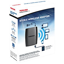 Buy Toshiba Stor.E Wireless Adapter for External Hard Drives Online at johnlewis.com