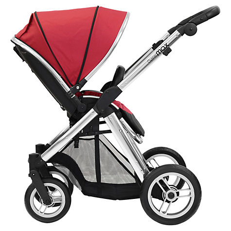 Buy Oyster Max Pushchair Chassis and Fabrics, Tomato Online at johnlewis.com