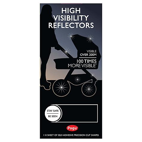 Buy Pogu High Visibility Reflective Strips Online at johnlewis.com