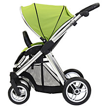 Buy Oyster Max Pushchair Chassis and Fabrics, Lime Online at johnlewis.com