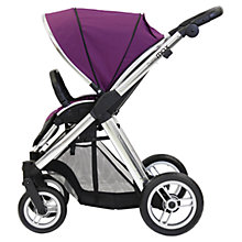 Buy Oyster Max Pushchair Chassis and Fabrics, Grape Online at johnlewis.com
