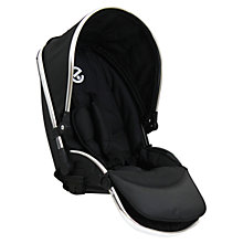 Buy Oyster Max Tandem Seat, Black Online at johnlewis.com